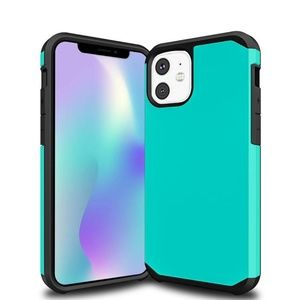Slim Armor Hybrid case for iPhone 11 model - Teal